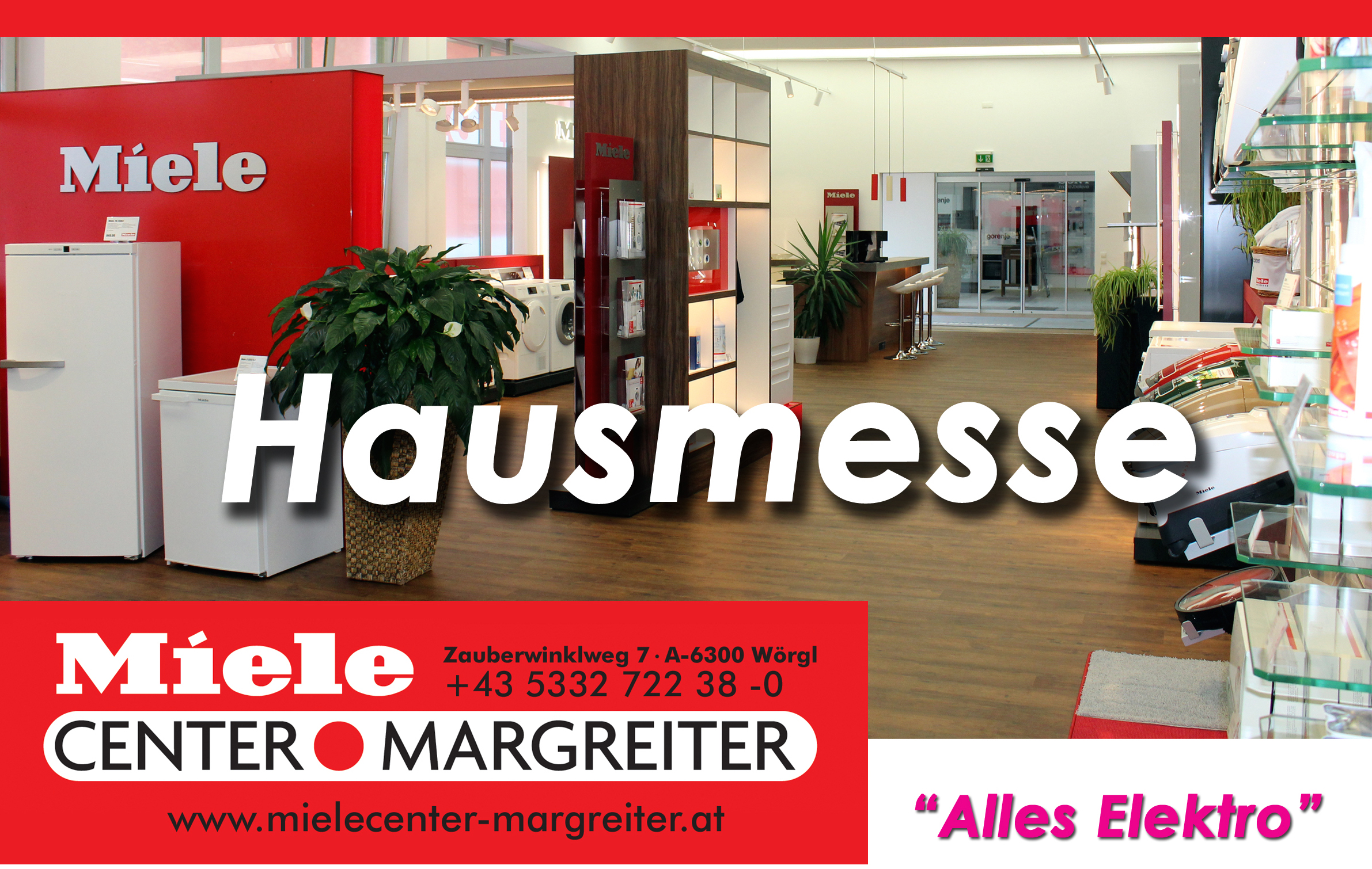 Save the date – Hausmesse am 01.12.2017!